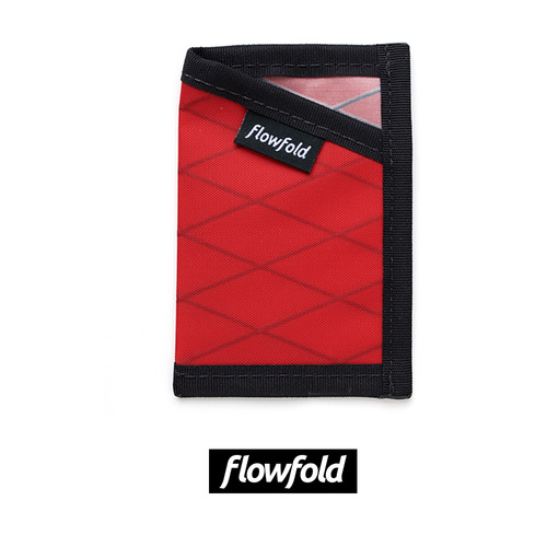 플로우폴드 FLOWFOLD MINIMALIST CARD HOLDER LTD BICYCLE RED