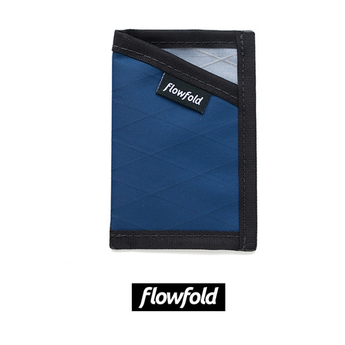 플로우폴드 FLOWFOLD MINIMALIST CARD HOLDER LTD NAVY BLUE
