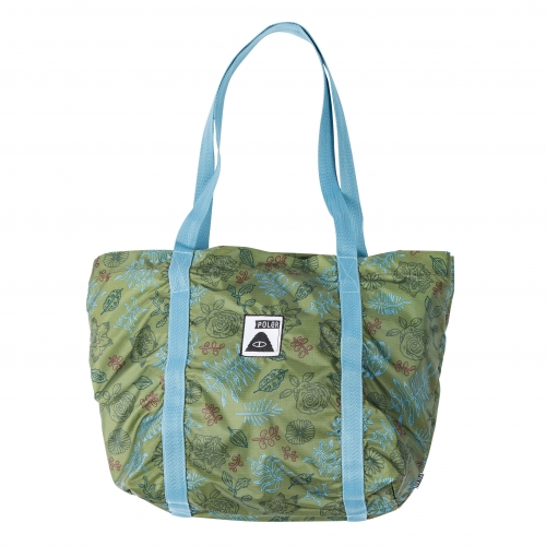 폴러 스터프 스터프에이블 토트 - POLER STUFF STUFFABLE TOTE BROTANICAL MOSSY