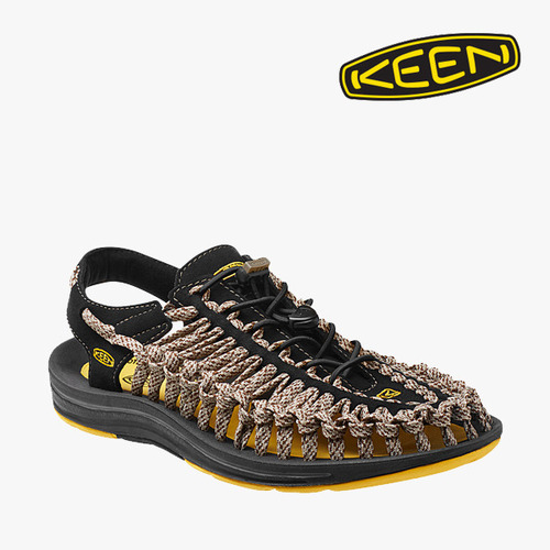 킨 Keen 유니크 8MM 카모 - Shitake / Golden Oak (DBN) 남성용  UNEEK 8MM CAMO