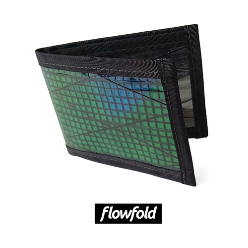 플로우폴드 FLOWFOLD VANGUARD WALLET GREEN