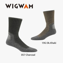 위그암 Wigwam Hiking Outdoor Pro(UP) F6077 (19G Dk.Khaki) /울양말/등산양말
